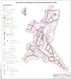 5 Инженерно-транспортная карта с.Челкаково